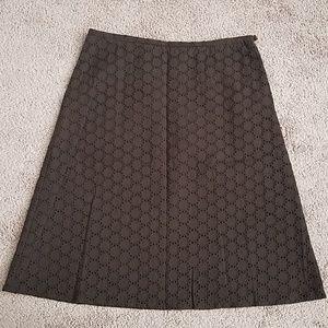 Ann Taylor Brown Skirt